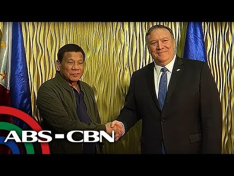 Palace says Pompeo told Duterte - We got your back in S. China Sea