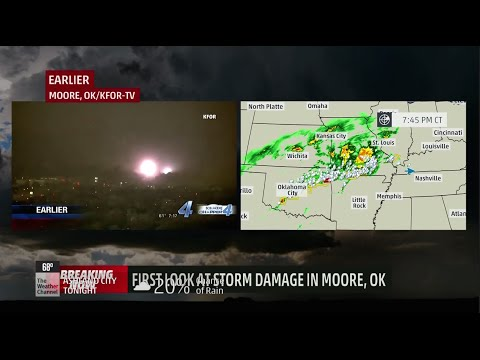 Moore and Tulsa Tornado Coverage - 3/25/15 TWC