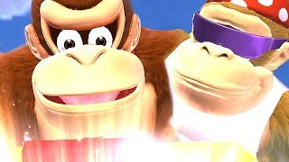 Funky Kong Country Tropical Freeze All Cutscenes Movie [Ultimate Story Mode] 2018