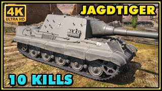 World of Tanks | Jagdtiger - 10 Kills - 8,3K Damage Gameplay