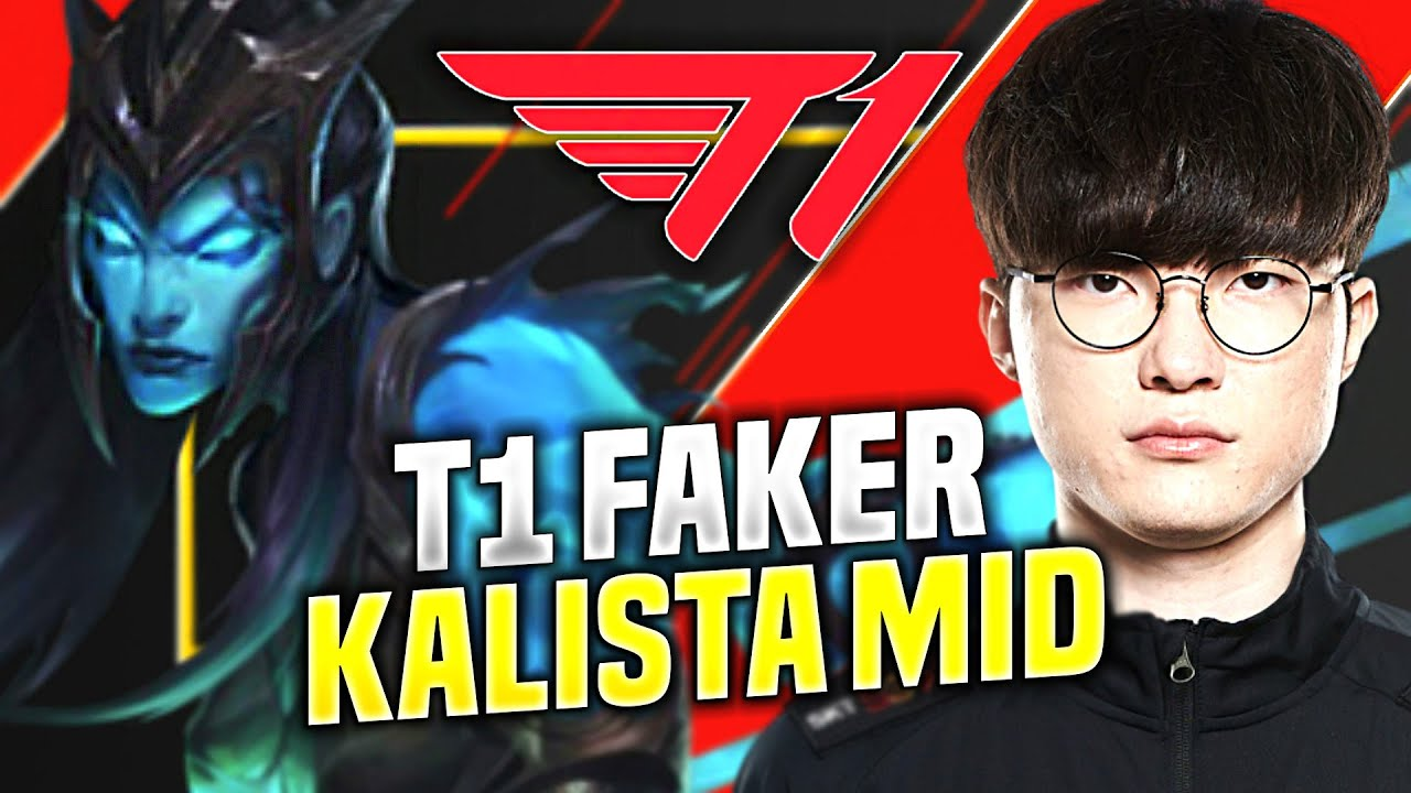 FAKER IS READY FOR KALISTA MID! - T1 Faker Plays Kalista Mid vs Lucian! | KR SoloQ Patch 10.18