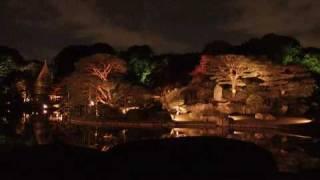 2008年秋に撮影した六義園の画像に、カラオケを乗せてみました。 夜...