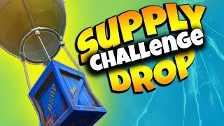 Where are the SUPPLY DROPS! | Fortnite Battle Royale! (Challenge)