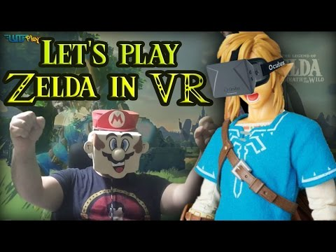 Zelda Breath of The Wild - Paseo por la llanura en VR - WiiU VR