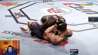 ПО ПЕЧЕНИ! СТРЕЙ ИГРАЕТ В UFC 3