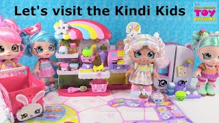 Kindi Kids Huge Collection Dolls & Playsets Unboxing Toy Review | PSToyReviews