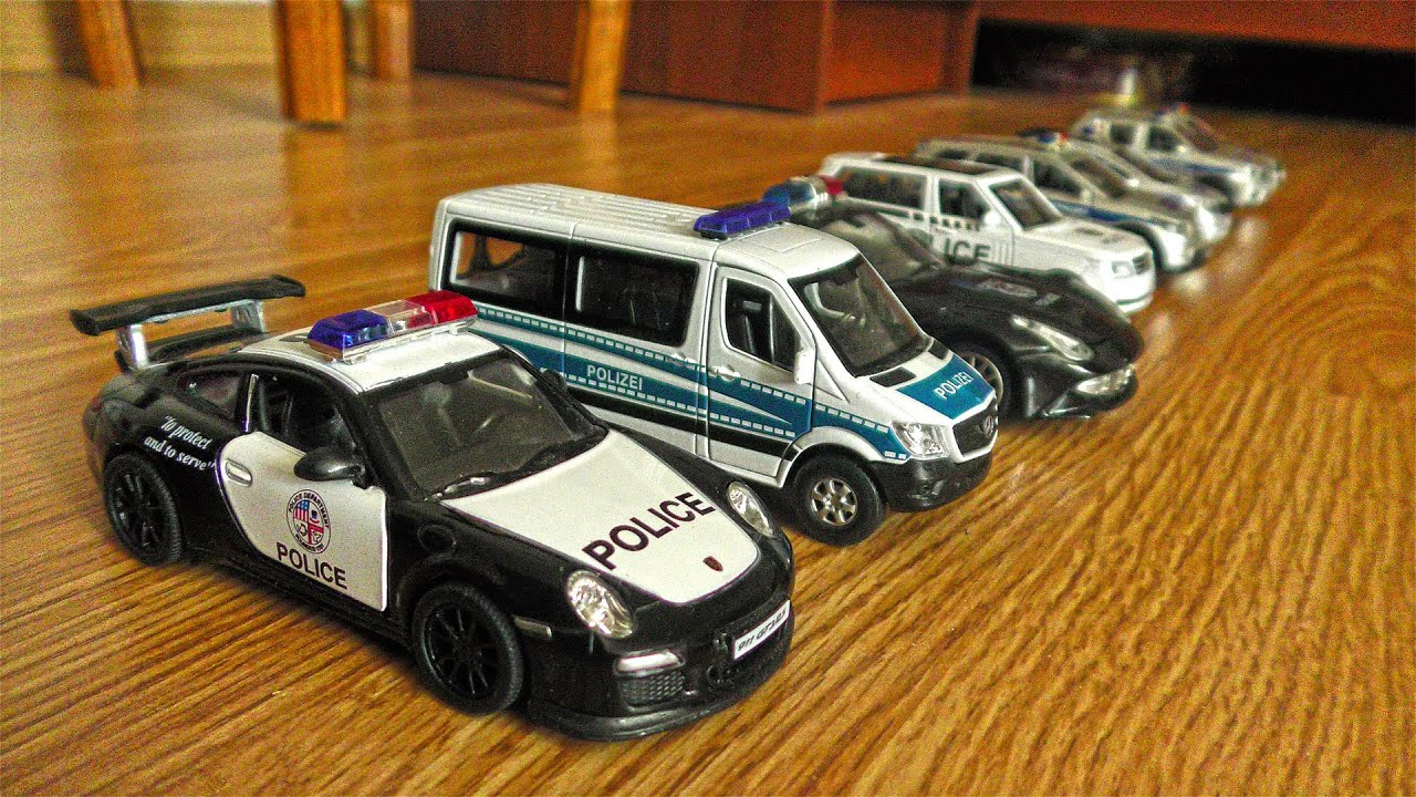 Police Cars from Various Countries