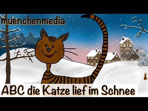Kinderlieder deutsch - ABC, die Katze lief im Schnee - Kinderlieder zum Mitsingen