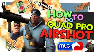 TF2: How to do quad airshot [MLG]