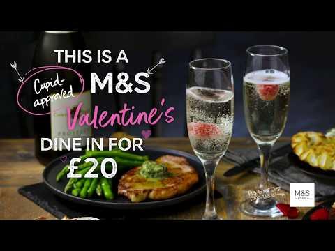 M&S   M&S Valentine's Dine In