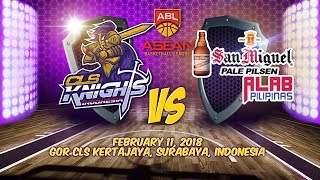 CLS Knights Indonesia VS San Miguel PALE PILSEN Alab Pilipinas | ABL 2017 - 2018