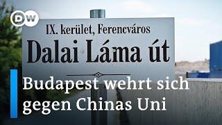 Ungarn: Streit um chinesische Universität | Fokus Europa
