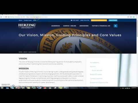 Herzing University Welcome Video