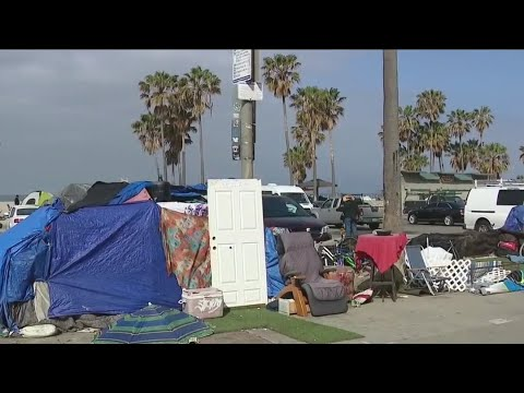 Download Homeless in Venice don't plan to leave their outdoor beach lifestyle living anytime soon