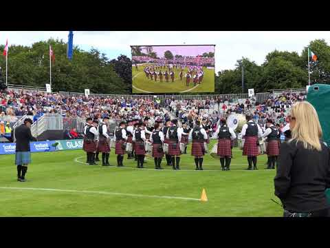 World Pipe band Championships 2017 - Police Service of Northern Ireland Medley - [4K/UHD]