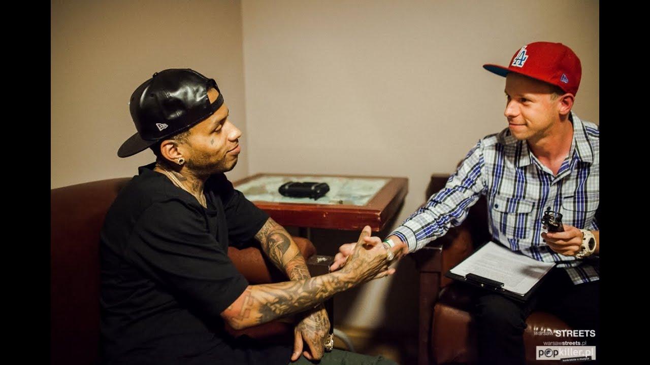 Kid Ink - wywiad / interview 09.2014 (Popkiller.pl)