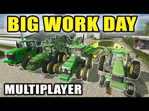 FARMING SIMULATOR 2017 | THE JOHN DEERE CREW IS ROLLING WITH TWO PLANTERS | MULTIPLAYER | EP #39