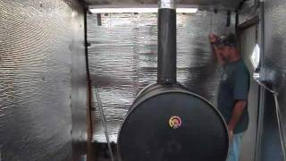 Barrel Wood Stove Problem Solving - Double Wall Chimney Pipe
