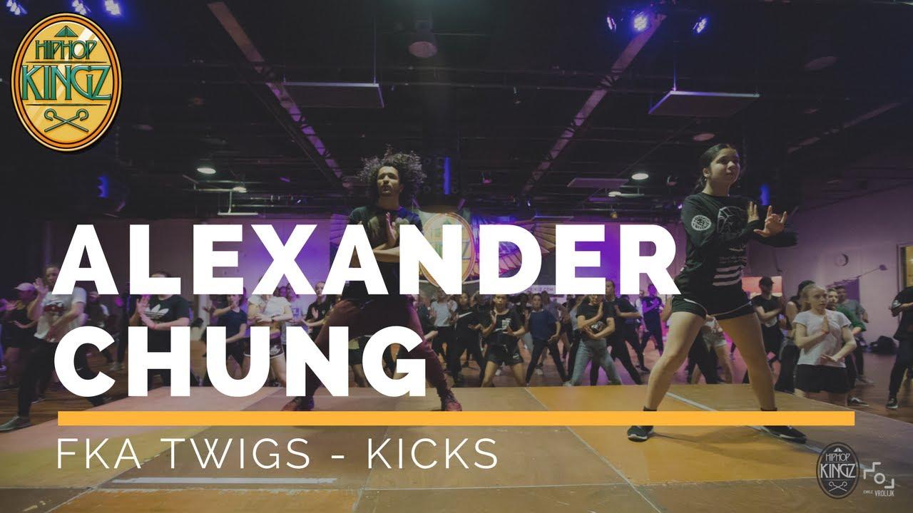 Alexander Chung | FKA -Twigs | HipHop Kingz workshops 2017