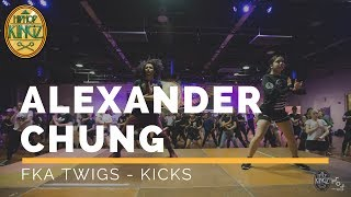 Alexander Chung | FKA -Twigs |  HipHop Kingz workshops  2017