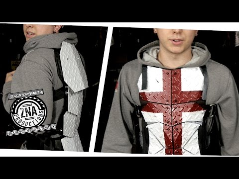 How to Make: Steel Tread-plate BACK Armor