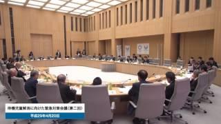 待機児童解消に向けた緊急対策会議(第2回)