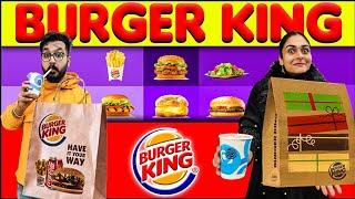 We ORDERED Entire BURGER KING Menu But Got No Burger 😱 || Ye Kya De Diya..... 😭