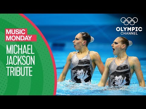 A Synchronised Swimming Tribute to Michael Jackson | Music…