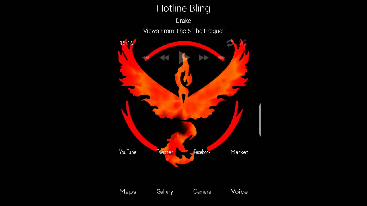 Team Valor Pokemon Go Gif Wallpaper Awesomeness Youtube