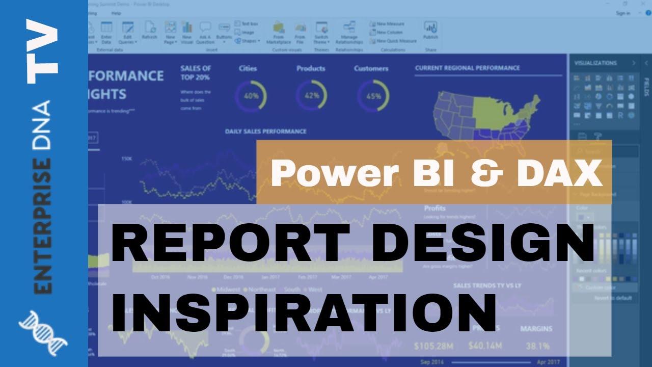 Power BI Report Design Tips And Inspiration