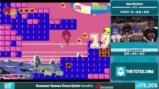 Spica Adventure by EggmaniMN in 6:21 - Summer Games Done Quick 2015 - Part 35