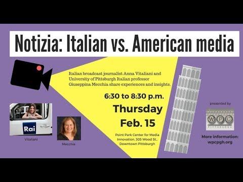 Notizia: Italian vs. American Media
