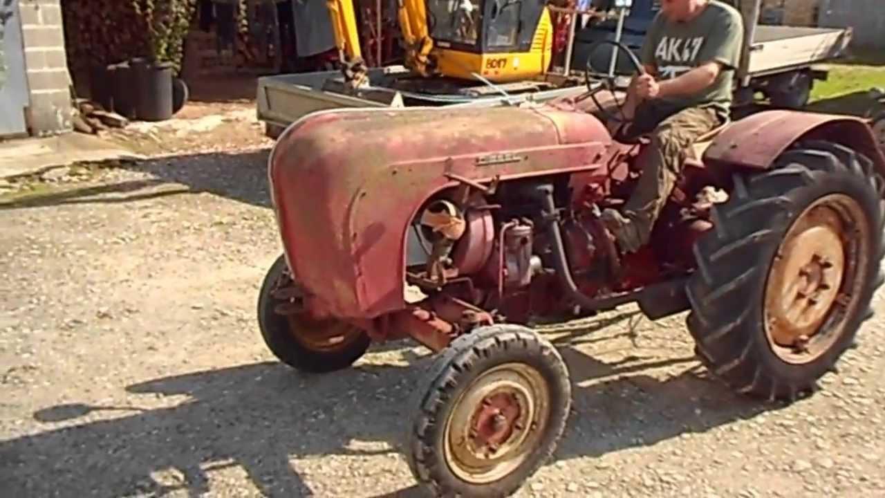porsche 218 standard diesel 1958 tractor youtube. Black Bedroom Furniture Sets. Home Design Ideas