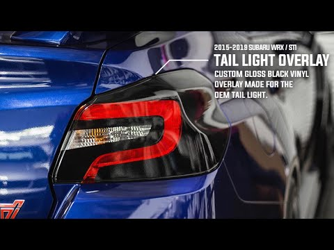 Subaru WRX/STI Custom Tail Light Black Out | DIY INSTALL