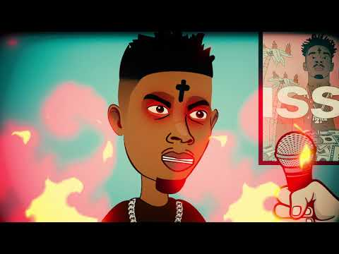 Cartoon 21 Savage - Issa Knife - Funny Interview