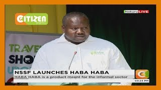 NSSF launches Haba Haba