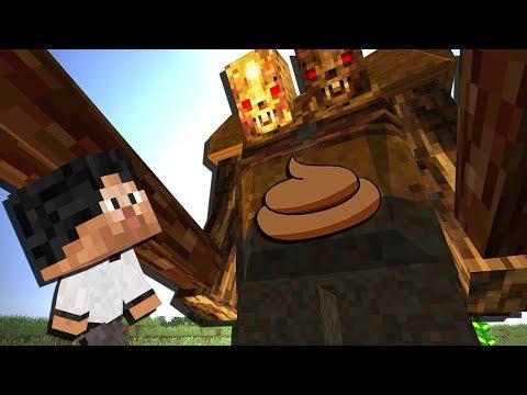 МАЛЫШ ПРОТИВ БОЛЬШОЙ КАКАШКИ - KIDS #31 - Видео из Майнкрафт (Minecraft)