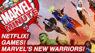 Netflix! Games! Marvel's New Warriors! - Marvel Minute 2017