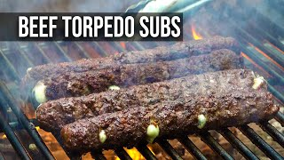 Beef Torpedo Sub recipe by the BBQ Pit Boys
