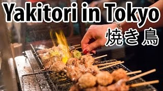 Eating Japanese Yakitori on Tokyo's Memory Lane (Piss Alley)