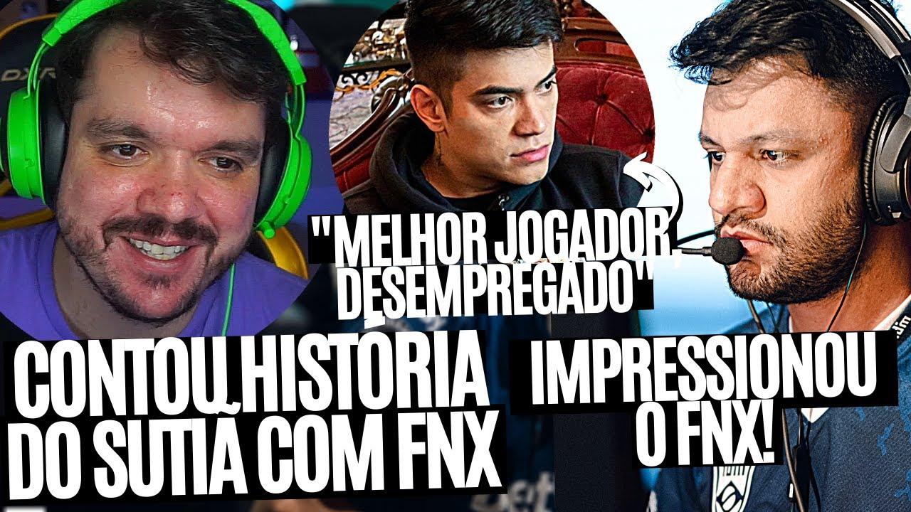 FNX FICA IMPRESSIONADO COM PLAY DO FER, GAU CONTA HISTÓRIA DO SUTIÃ COM FNX E MAIS