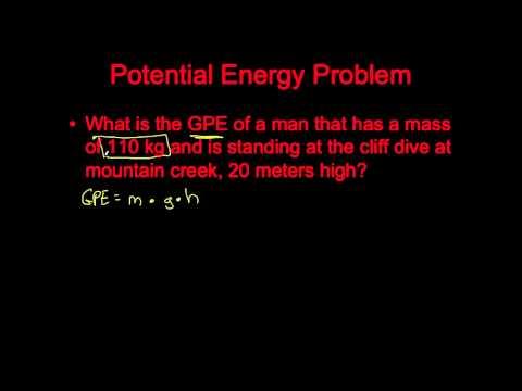 Task List #13 - Potential and Kinetic Energy-Calculating PE and KE
