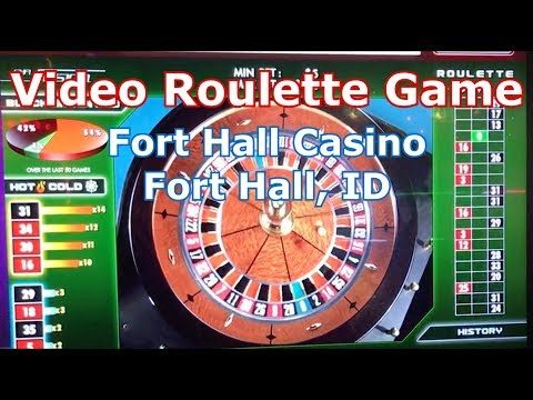 REAL Video Roulette Game - Fort Hall Casino, Fort Hall, ID - LR#3 - Inside the Casino