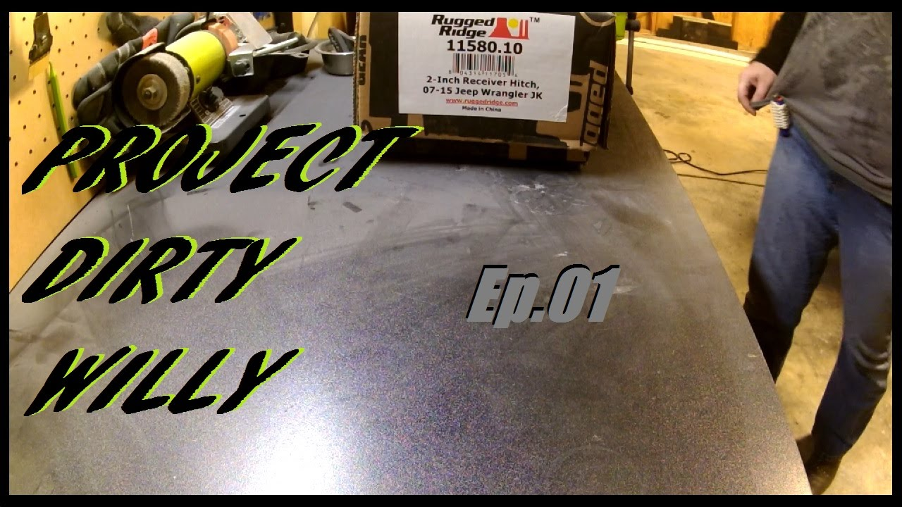 hight resolution of 2015 jeep jk hitch install project dirty willy ep 01