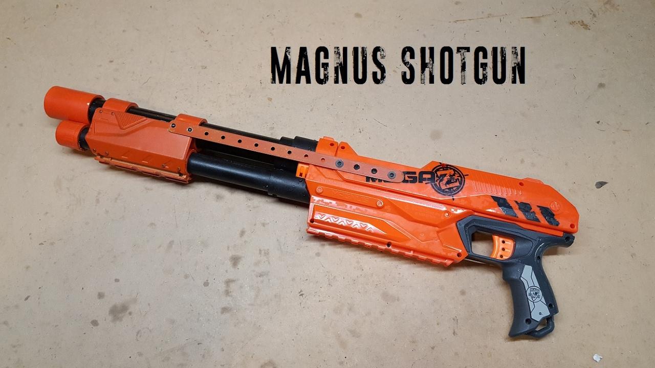 Build Guide: Magnus Shotgun - YouTube