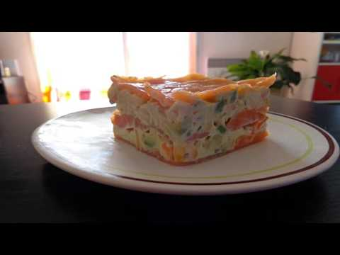 recette-:-mille-feuille-de-saumon,-surimi,-avocat-et-maïs