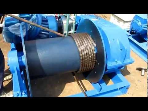 electric winch wire rope installation youtube. Black Bedroom Furniture Sets. Home Design Ideas
