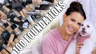 Download MAKEUP EDIT 90% of my FOUNDATIONS GONE!!! Mp3 and Videos