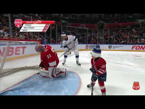 Alexander Semin Feeds His Son For A Great Goal!