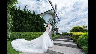 婚禮紀錄/台中 婚攝艾斯 ACES/桃園青青風車莊園/20200606/博翔&純妤